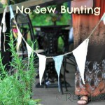 How to… Make No Sew Bunting (2)