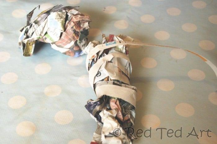 paper mache dinosaurs (2)