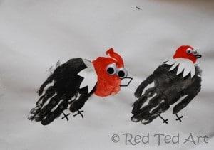 preschooler handprints crafts