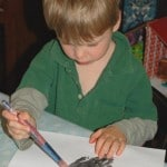 preschooler handprints crafts