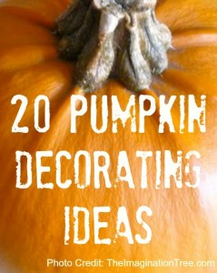 pumpkin preschooler ideas