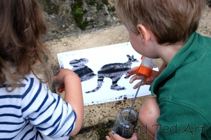 street art with kids