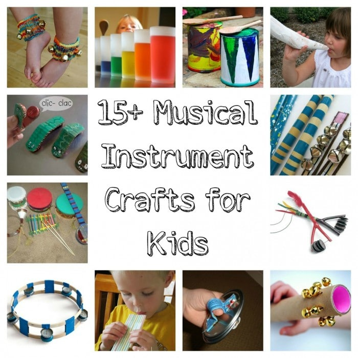 15 Musical Instrument Crafts for Kids