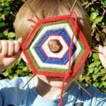 Kids Crafts: Chestnuts Crafts – Spiderwebs