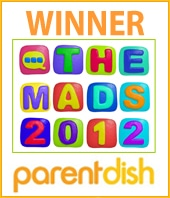 MADs 2012 MAD WINNER Badge