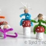 Easy Pipe Cleaner People (Elves)