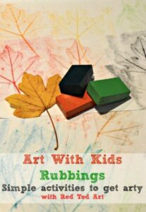 art with kids leaf rubbings