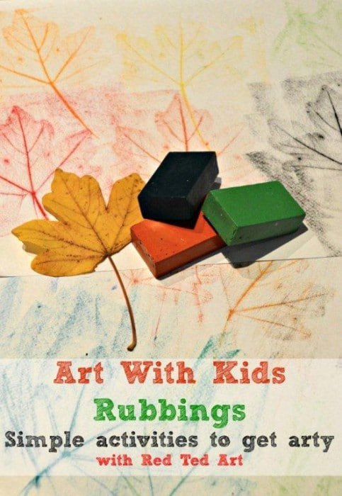Art With Kids - Exploring Rubbings
