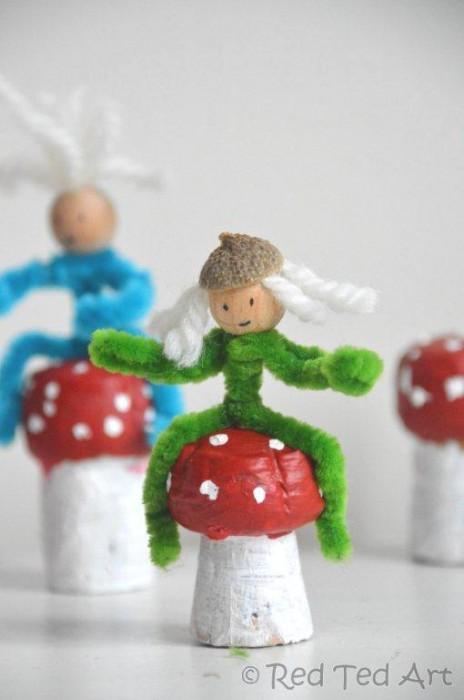 Mushroom corks