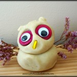 play dough owl10