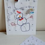 Advent Calendar from Kids Art via www.redtedart.com