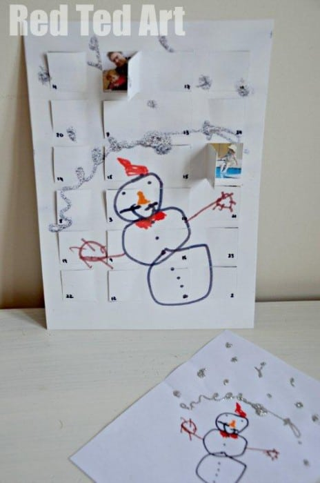 Calendar Ideas For Children To Make : Advent calendar ideas presents kids can make