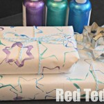 DIY Wrapping Paper – Cookie Cutter Printing