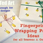 DIY Wrapping Paper – Fingerprint Ideas