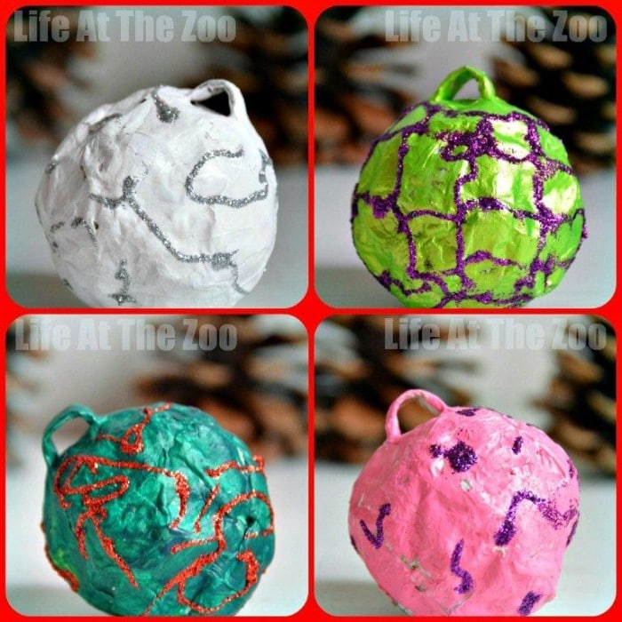 Paper mache christmas decorations ideas for Papier mache decorations