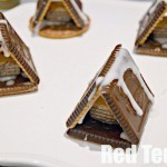 Super easy no bake gingerbread houses
