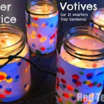 Simple Lanterns for Winter Solstice (or St Martin's Day!)