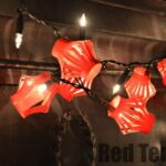Chinese New Year - Lantern Fairy Lights via www.redtedart.com