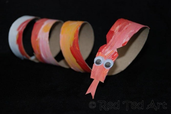 Chinese New Year Craft for Kids - Year of the Snake