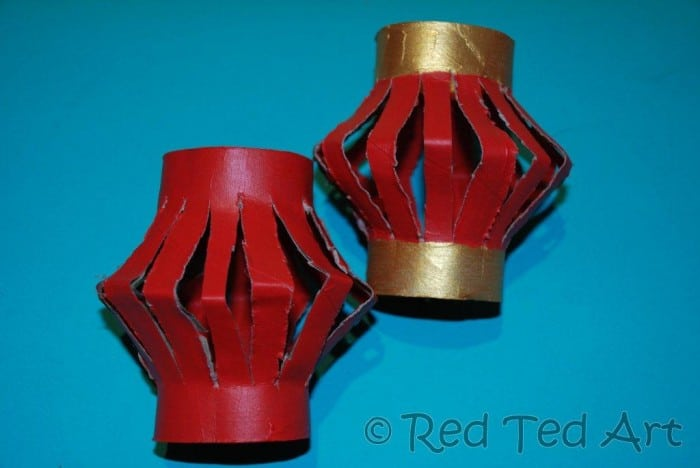 Chinese New Year Crafts – Lanterns (1)