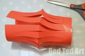 Chinese Paper Lantern Craft for kids