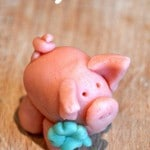 New Years Eve Marzipan Pigs via www.redtedart.com