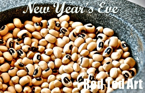 New Year's Eve Traditions Black Eye Beans
