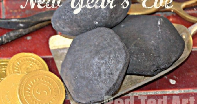 New Year's Eve Traditions: Coal & Gold (Scotland)