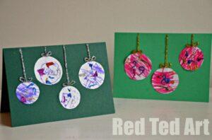 Preschooler Christmas Cards