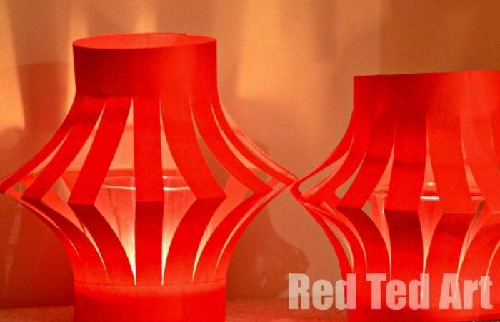 Chinese New Year Crafts Fairy Light Lanterns
