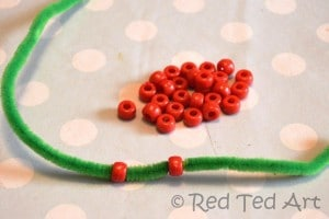 Simple Christmas activity for preschoolers