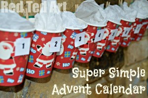 Simple but effective Advent Calendar Idea
