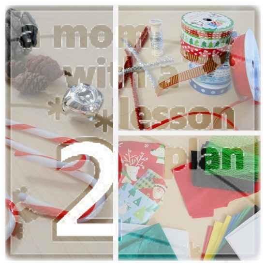 Creative Christmas Day 2 – Ornament Making Station