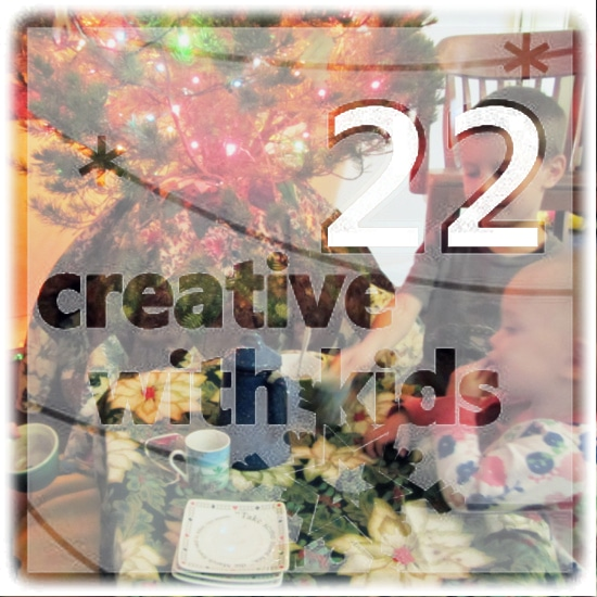 Creative Chirstmas Day 22: Christmas Tree Tea Party