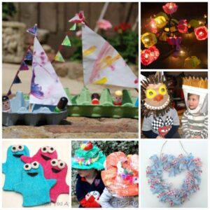 25 Fun Recycled Craft Ideas