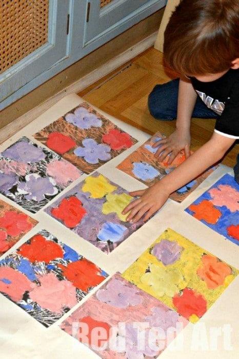 Kids Get Arty: Andy Warhol Art