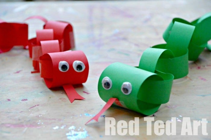 New Year Craft Ideas For Kids Part - 21: Snake Craft Ideas