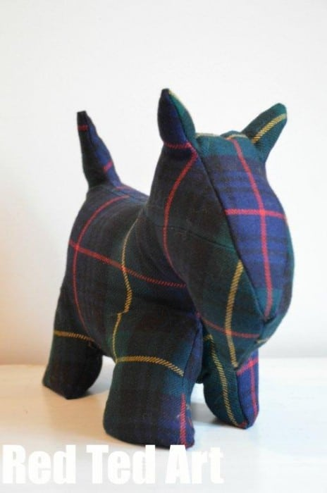 Scottie Door Stop Free Dog Patterns