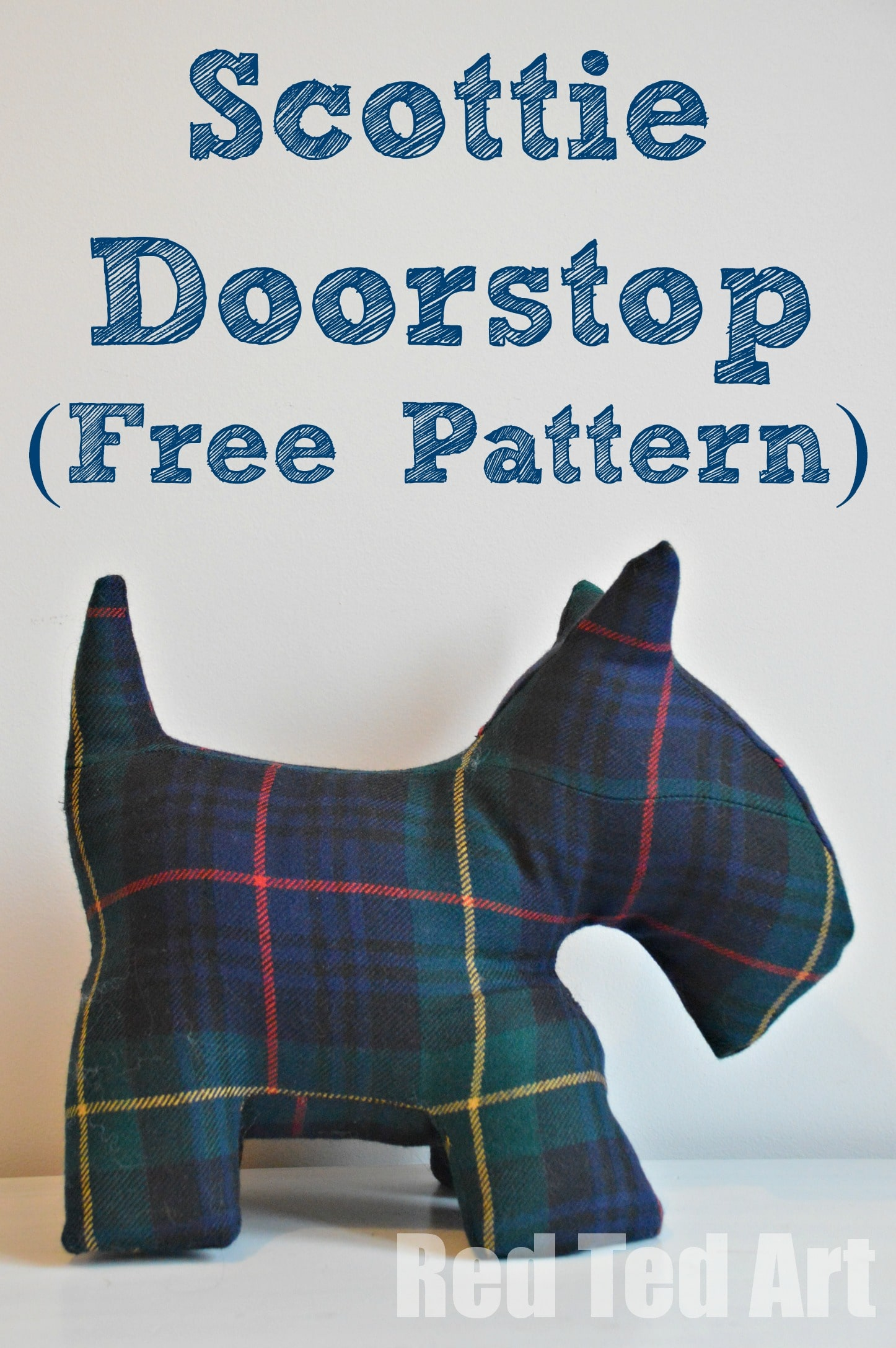 Scottie Door Stop Amp Free Dog Patterns