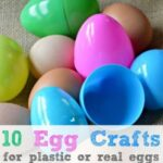 10 Egg Craft Ideas – things to make from real or plastic eggs