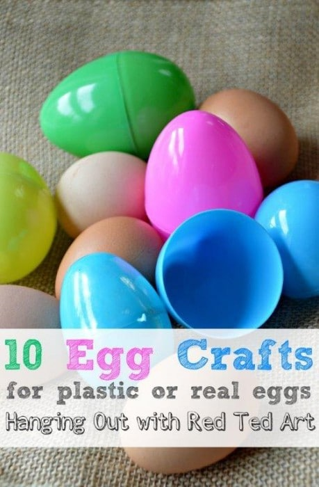 10 Egg Craft Ideas – from Bathbombs to Candles to counting tools