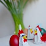 Kids Crafts: Egg Carton Chicken Egg Cups