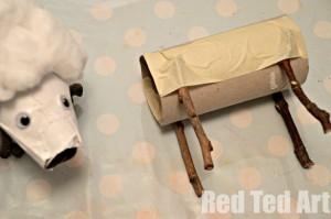 Loo Roll Sheep