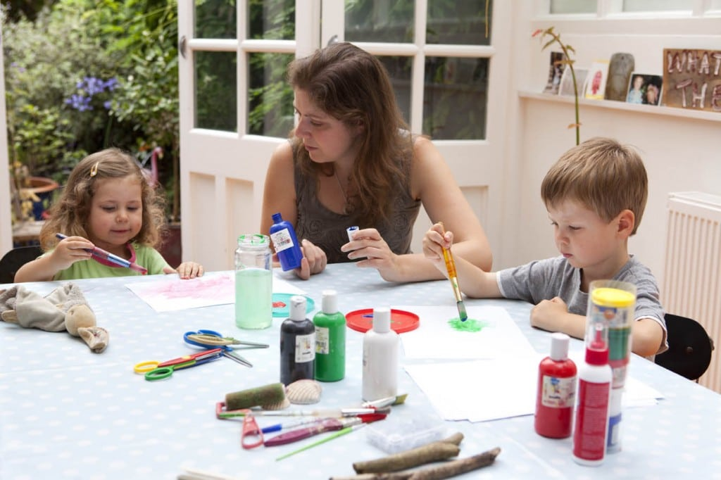Inspiring Creativity – Creating A Kiddy Craft Haven At Home