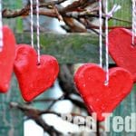 Salt Dough Recipe: Valentine's Decorations