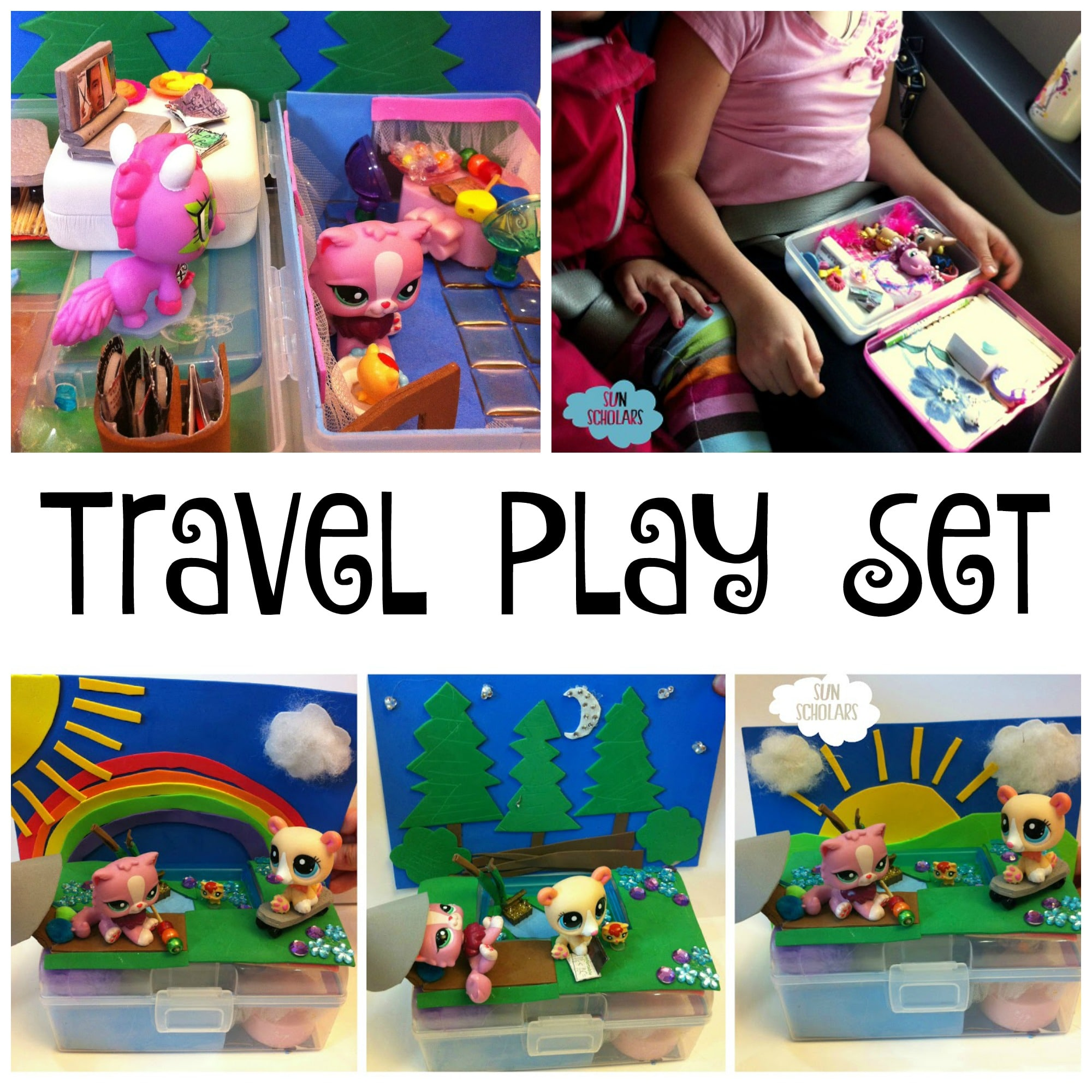 Kids Craft: Travel Play Set (Guest Post)