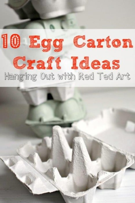 10 Egg Carton Crafts and Ideas