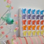Butterfly Canvas Craft