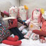 Kids Art Rag Dolls