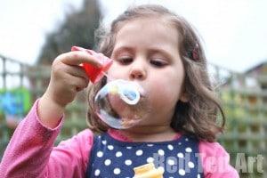 DIY Bubble mixture
